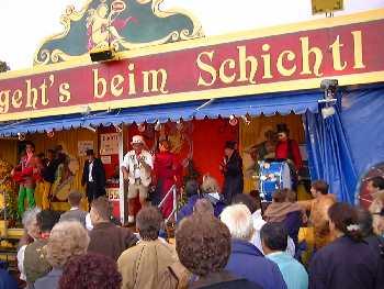 Oktoberfest in München - Beim Schichtl
