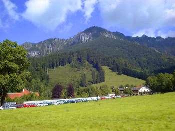 Oberbayern - Deutsche Alpenstrasse Ettal