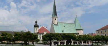 Sehenswertes Ausflugsziel beim Bauernhofurlaub in Altötting - Wallfahrtskirche in Niederbayern
