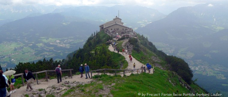 Sehenswürdigkeiten im Berchtesgadener Land Ausflugsziel Kelsteinhaus am Obersalzberg