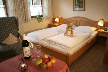 Pension in Berchtesgaden Zimmer Gästehaus Hinterponholz