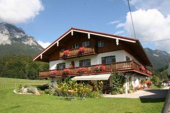 Zimmer mit Frühstück in Berchtesgaden Gästehaus Hinterponholz