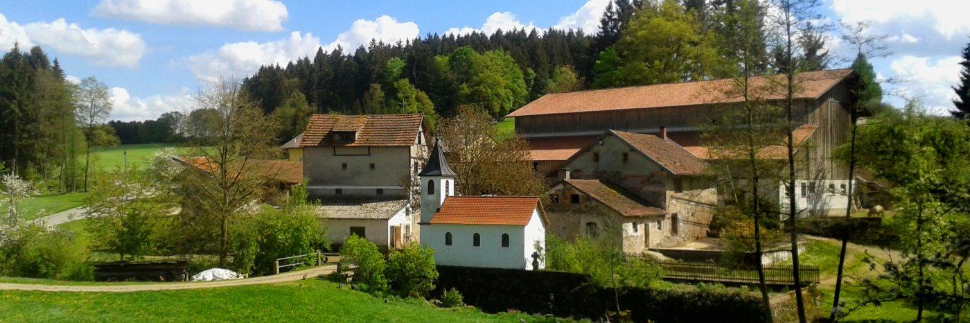 Bauernhof in Michelsneukirchen Bauernhofurlaub im Landkreis Cham